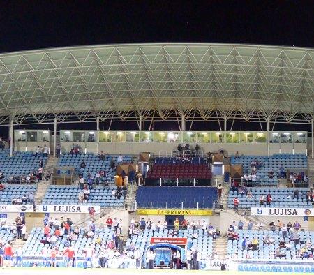 Alfonso Perez stadion i Getafe - hovedtribune