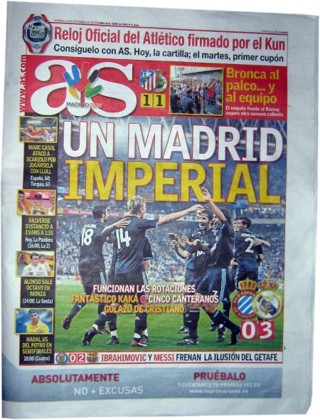 AS: Un Madrid Imperial