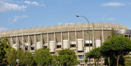 Santiago Bernabeu stadion i Madrid