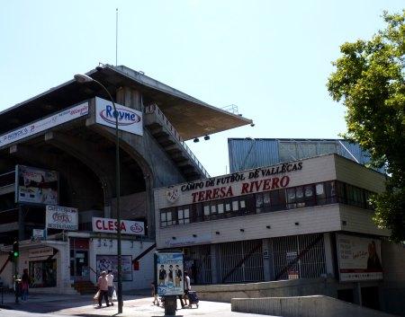 Rayo's stadion i Madrid