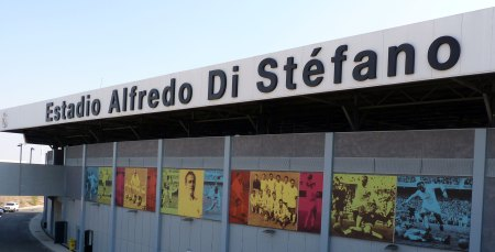 Estadio Alfredo Di Stefano i Madrid