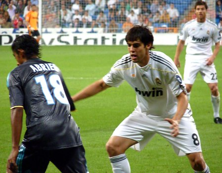 Real Madrid Champions League Kaka og Xabi Alonso
