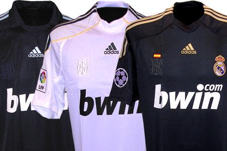 Konkurrence om 3 ægte Real Madrid trøjer