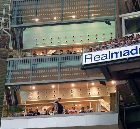 Real Madrid spiller familiers boks