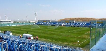 Estadio Alfredo di Stefano kig udover banen