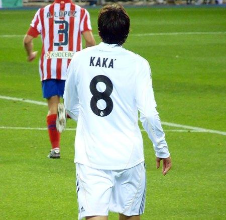 Real Madrid kaka trøje med lange ærmer