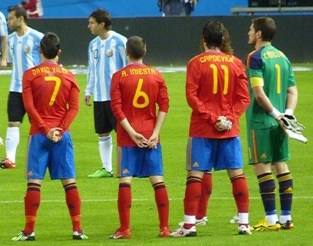Spanien navn og nummer tryk