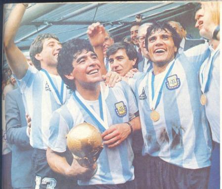 Argentina VM 1986 landsholdstrøje