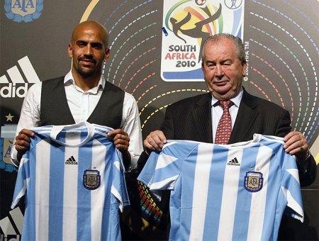 Argentina VM 2010 trøje | Argentinsk landsholdstrøje VM 2010