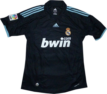 Real Madrid udebanetrøje for sæsonen 2009/10