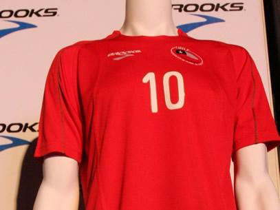 Chile's VM 2010 trøje