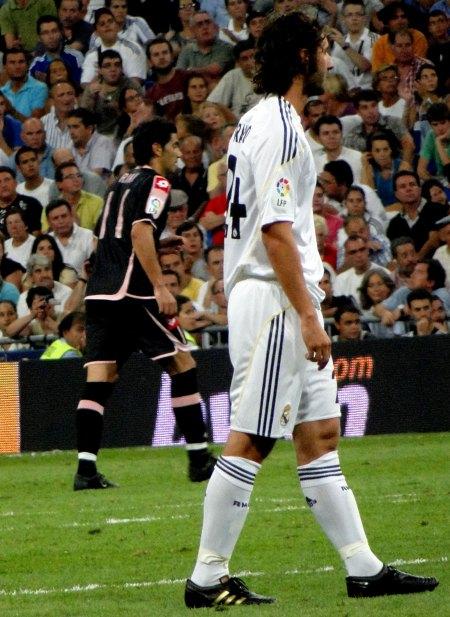 Real Madrid spiller Granero i fuld uniform