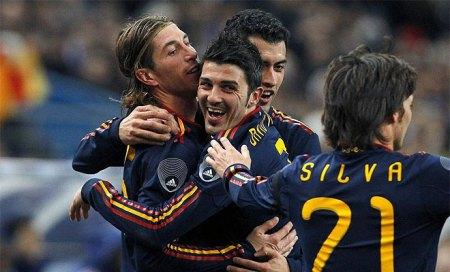 Spaniens udebane trøje Silva 21