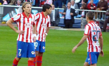 Atletico Madrid shorts nummer 7 - Diego Forlan shorts