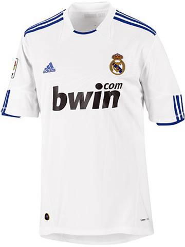 Real Madrid hjemme trøje 2010/11