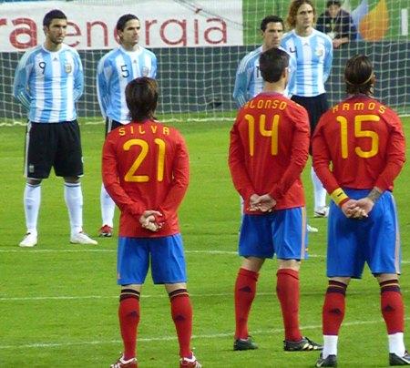 Higuain - Gago - Alonso - Ramos