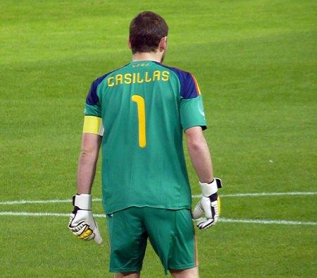 Spanien Casillas 1 trøje