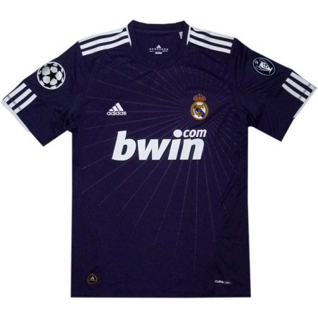 Real Madrid Champions League udebane trøje 2010/11